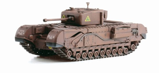 Churchill Mk. IV, A Sqd. North Irish Horse, Tunisia 1943 (1:72)