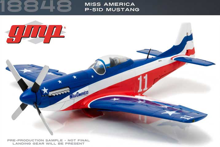"P-51D Mustang ""Miss America"" (1:35) - Preorder item, order now for future delivery"