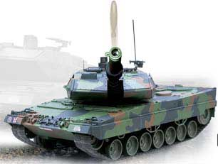 R/C Leopard 2A5 (1:16 Scale) 26.095 MHz - Bullet Shooting