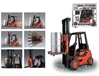 R/C Fork Lift Truck (1:6 Scale) 27.mhz
