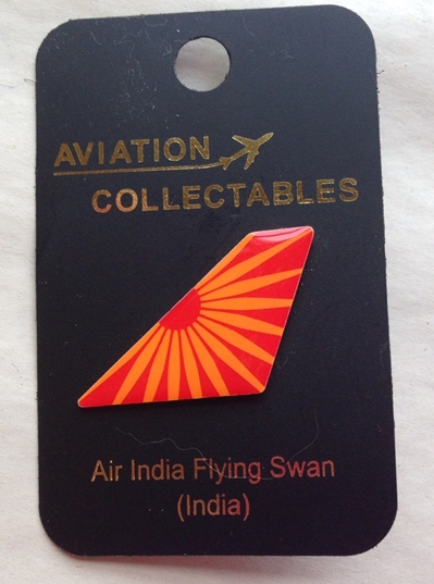 Air India Flying Swan Pin