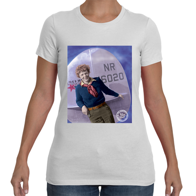 Amelia Earhart Courage T-shirt