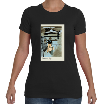 Amelia Earhart: Unforgettable T-Shirt