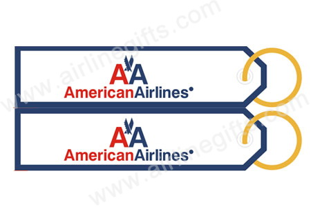 American Airlines Key Tag RBF523