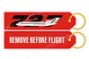 B727 RBF Key Tag RBF727