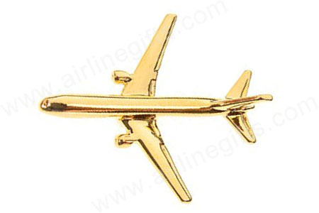 Boeing 767 (Gold) PIN767