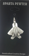 F-22 Raptor Pewter Lapel Pin / Tie Tack