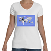 Faye Gillis Wells V Neck T-Shirt