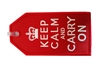 Keep Calm Bag Tag TAG403