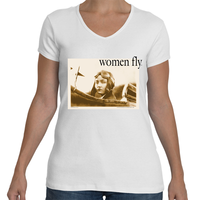 Nancy Harkness Love/Cockpit V Neck T-shirt