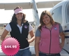 Powder Puff Pilot Ladies Microfleece Vest-Pink