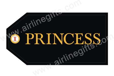 Princess Bag Tag (Black) TAG204