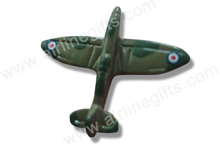 Spitfire 3-D Handpainted in Jewelry Box PIN886
