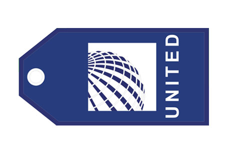 United (Continental) Bag Tag TAG194