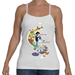 "Women Fly ""Princess"" Spaghetti Strap Tank - TS-WFPRINCESS-SPTNK-SMA-WH"