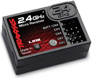 Receiver - 2.4GHz Micro 4-Ch
