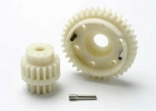 Gear Set - 2-Speed Wide Ratio (2Nd Speed Gear 38T - 13T-18T Input Gears - Hardware)