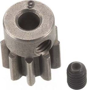 Gear - 9-T Pinion (32-P) (Steel) Stampede 4X4