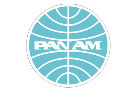 Pan Am Retro Lapel Pin / Tie Tack