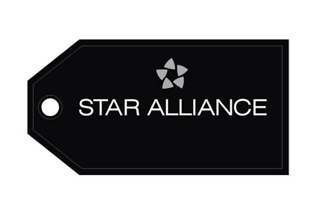 Star Alliance Bag Tag