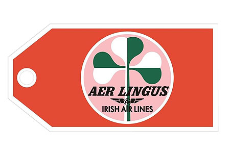 Aer Lingus Retro Bag Tag