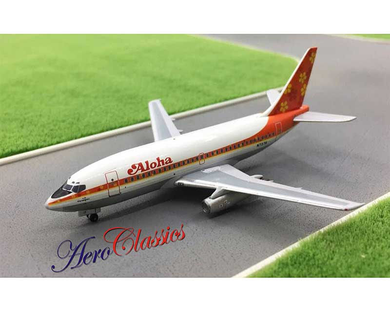 Aloha B737-200 N73711 Delivery Colors (1:400)