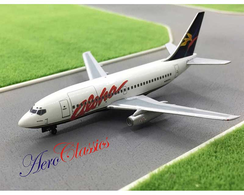 Aloha B737-200 N802AL New Colors, 1990s (1:400)