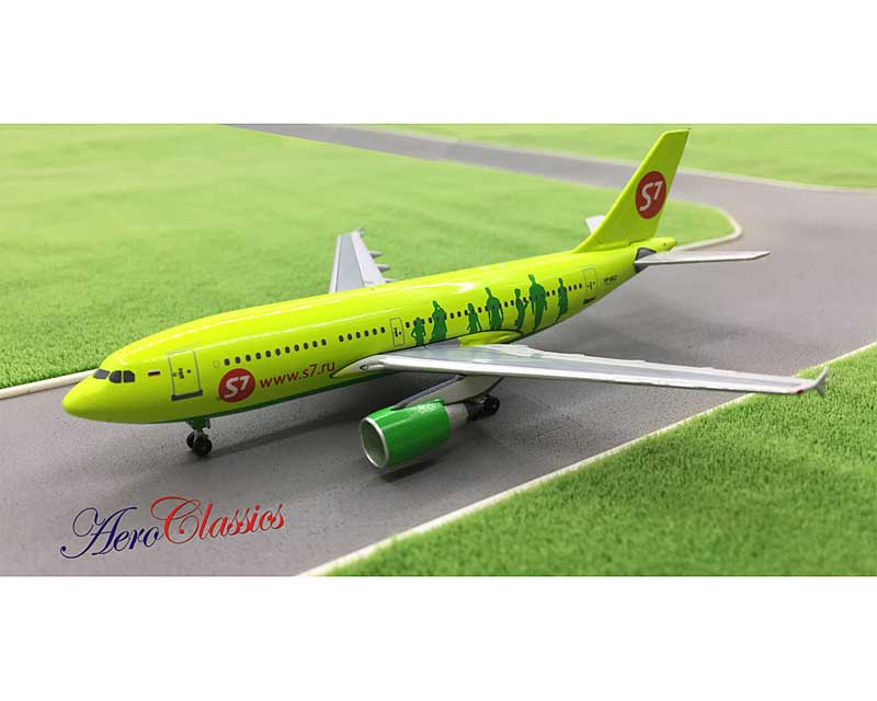 S7 Airlines A310-300 VP-BSZ (1:400)