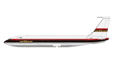 Caribbean Airways 707-138B G-AVZZ (1:200) - Preorder item, Order now for future delivery