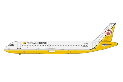Royal Brunei Airlines A320 V8-RBR (1:400)