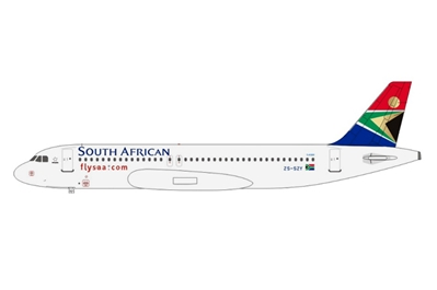 South African Airways A320 ZS-SZY (1:400)