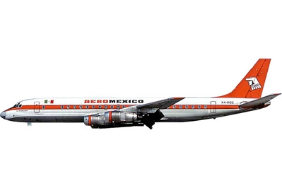 Aeromexico DC-8-51 XA-DOE (1:200) - Preorder item, order now for future delivery