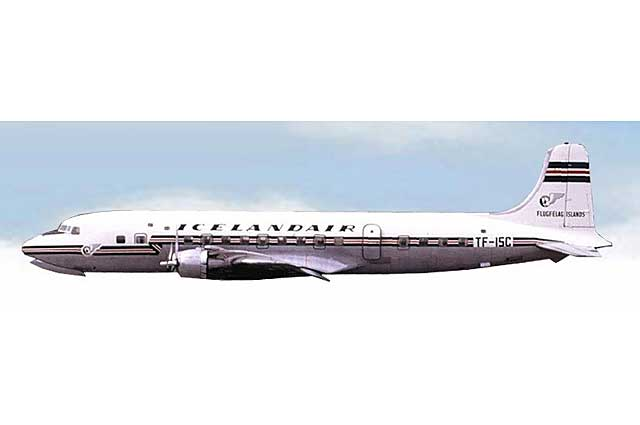 Icelandair DC-6 TF-ISC (1:400) - Preorder item, order now for future delivery