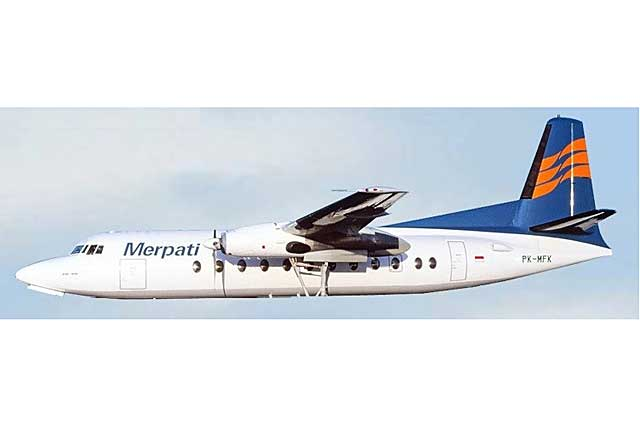 Merpati F-27 PK-MFK (1:400) - Preorder item, order now for future delivery