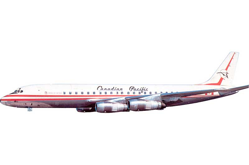 Canadian Pacific Airlines DC-8-51 CF-CPN (1:200) - Preorder item, order now for future delivery