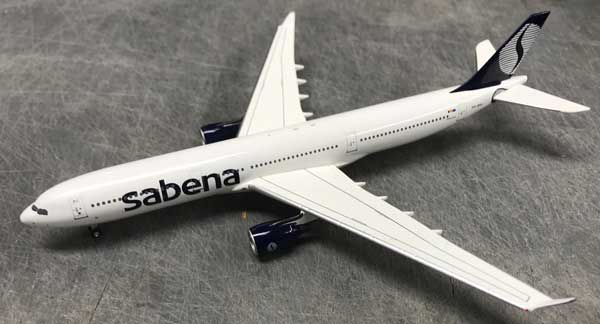Sabena A330 OO-SFO Late 1990s Colors (1:400)