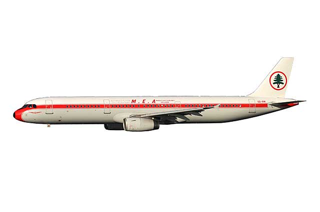 MEA A321 OD-RMI (1:400) - Preorder item, order now for future delivery
