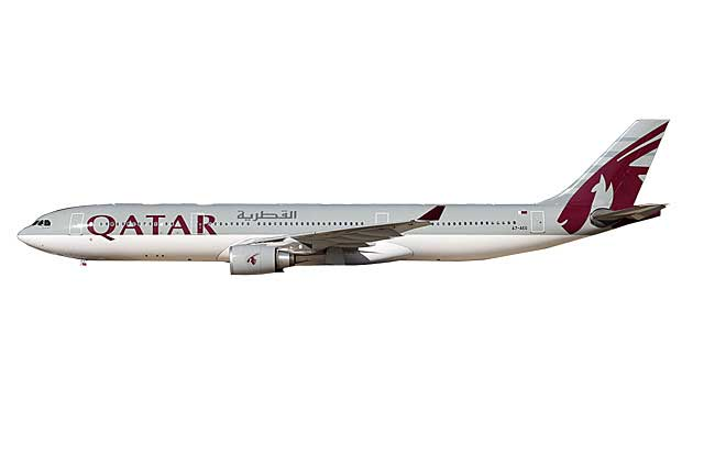 Qatar A330-300 A7-AEG (1:400) - Preorder item, order now for future delivery