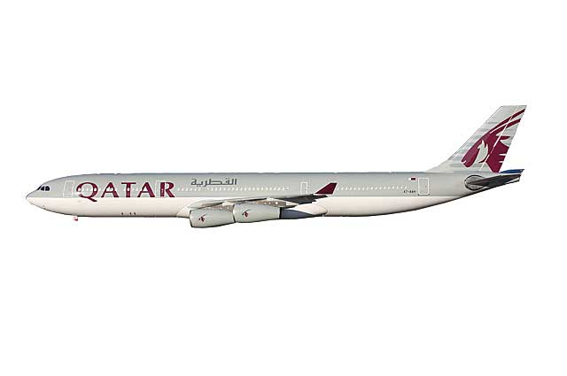 Qatar A340-300 A7-AAH (1:400) - Preorder item, order now for future delivery