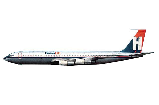 Heavylift Cargo 707-320F N2215Y (1:400) - Preorder item, order now for future delivery