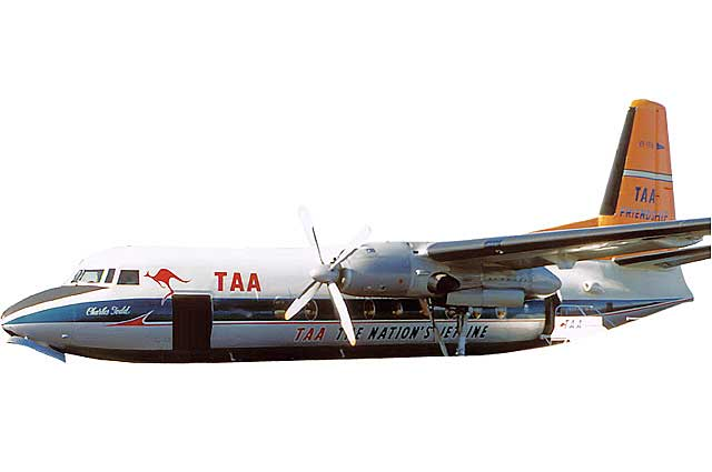 TAA F-27 Australia VH-TFA (1:400) - Preorder item, order now for future delivery