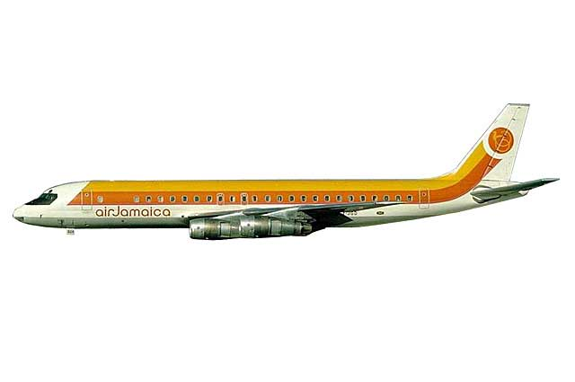 Air Jamaica DC-8-51 6Y-JGD (1:400) - Preorder item, order now for future delivery