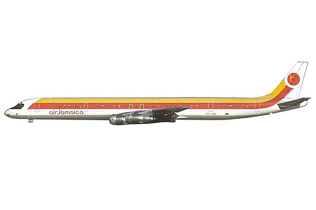 Air Jamaica DC-8-61 6Y-JGG (1:400) - Preorder item, order now for future delivery