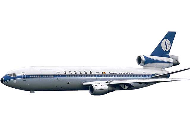Sabena DC-10-30 OO-SLA (1:500) - Preorder item, order now for future delivery