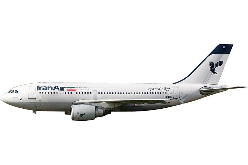 Iran Air A310-300 EP-IBK (1:400) - Preorder item, order now for future delivery
