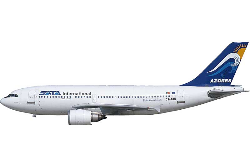 SATA International A310-300 CS-TGO (1:400) - Preorder item, order now for future delivery