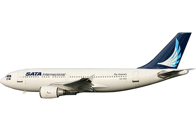 SATA International A310-300 CS-TGV (1:400) - Preorder item, order now for future delivery