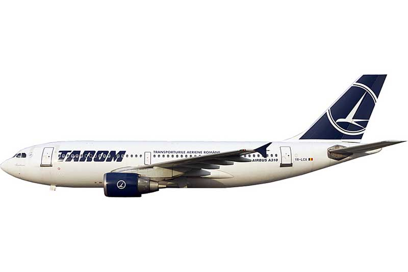 Tarom A310-300 YR-LCA (1:400) - Preorder item, order now for future delivery
