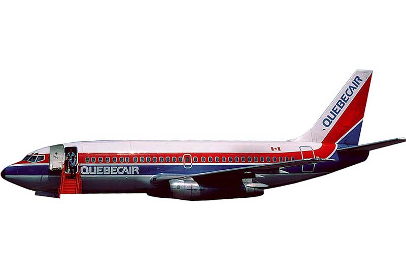 Quebecair 737-200 C-GQBD (1:400) - Preorder item, order now for future delivery