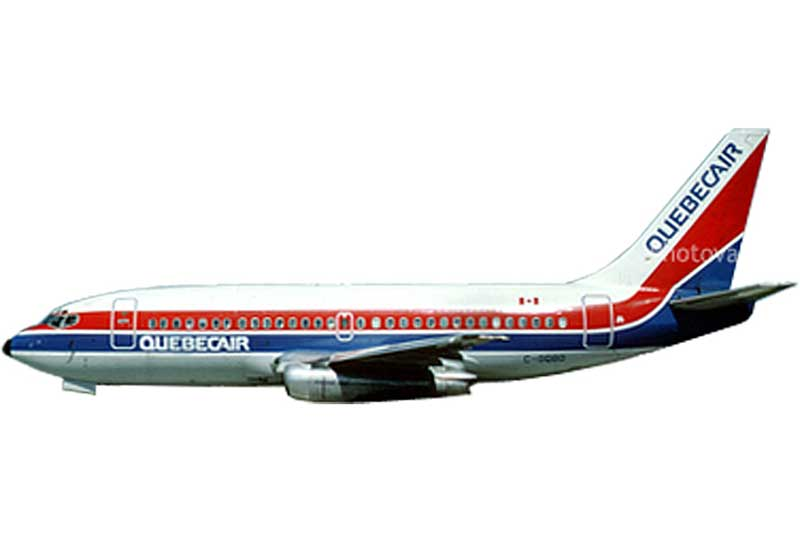 Quebecair 737-200 LN-BRL (1:400) - Preorder item, order now for future delivery